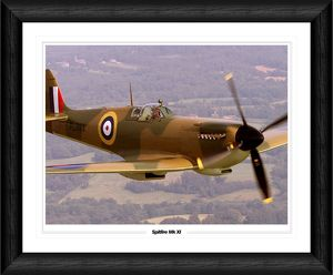 Spitfire Mk XI (Battle of Britain Colours) Framed Print