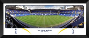Tottenham Hotspur FC White Hart Lane Empty Day Halfway Framed Panoramic Print