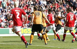 CCC, Barnsley Vs Wolves, Oakwell, 25/04/2009