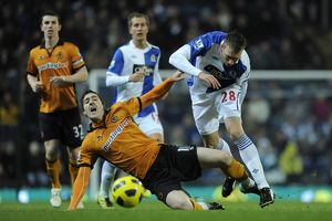 Soccer - Barclays League - Blackburn Rovers v Wolverhampton Wanderers