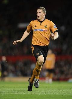 SOCCER - Carling Cup Third Round - Manchester United v Wolverhampton Wanderers