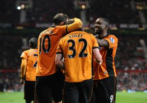 Soccer - Carling Cup Round Four - Manchester United v Wolverhampton Wanderers