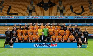 SOCCER - Wolverhampton Wanderers 2011-2012 Official Photocall