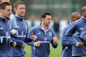 SPORT - UEFA Euro 2012 Qualification - England Training