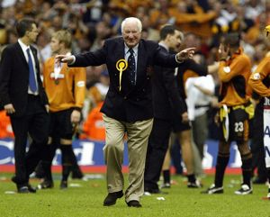 Wolves vs Sheffield United, Play Off Final, Chairman Sir Jack Hayward