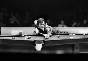 Alex Higgins at the1981 Benson & Hedges Masters