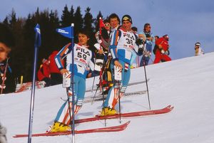 The Bell brothers - 1987 FIS World Championships