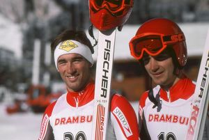 The Bell brothers - 1988 FIS World Cup - Val d'Isere