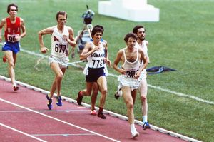 Brendan Foster at the 1976 Montreal Olympics