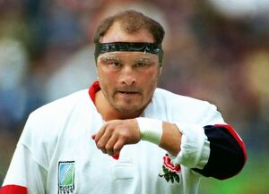 Brian Moore at the 1995 Rugby World Cup