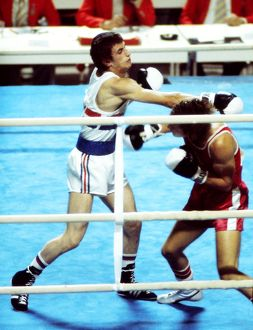 Charlie Magri at the 1976 Montreal Olympics