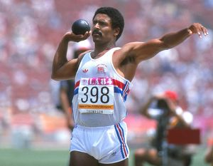Daley Thompson - 1984 Olympic Decathlon Champion