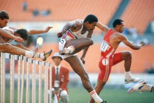 Daley Thompson at the 1988 Seoul Olympics