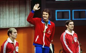 David Wilkie at the 1976 Montreal Olympics