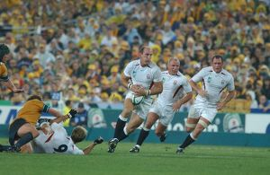 England Back-Row Triumvirate (Dallaglio, Back, Hill) - 2003 RWC Final