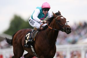 Frankel on the way to winning the Queen Anne Stakes