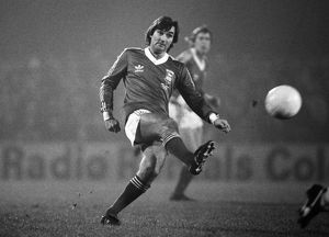 George Best playing for Ipswich Town