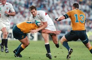 Will Greenwood during the 2003 World Cup Final