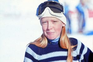 Helen Carmichael - 1970 FIS World Cup - Val d'Isere
