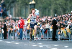 Hugh Jones - winner of the 1982 London Marathon