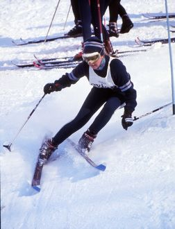 Isabel Mabey - 1970 FIS World Cup - Val d'Isere