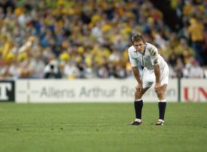 Jonny Wilkinson during the 2003 World Cup Final