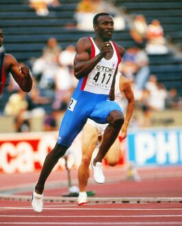 Linford Christie at the 1991 Tokyo World Championships