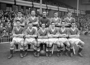 Manchester United Team Group 1956-57; 'The Busby Babes'