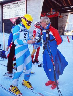 Martin Bell - 1987 FIS World Cup - Val Gardena