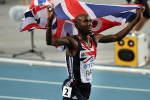 Mo Farah - 2011 5000m World Champion