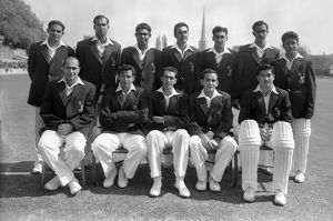 Pakistan Team - 1954 Tour of England