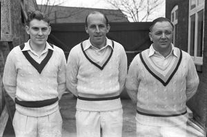 Ray Illingworth, Ted Lester, and Harry Halliday
