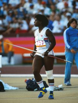 Sharon Gibson - 1984 Los Angeles Olympics