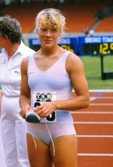 Shirley Strong at the 1984 WAAA Championships