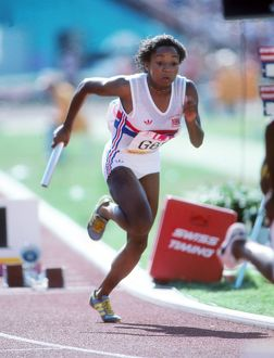 Simone Jacobs - 1984 Los Angeles Olympics