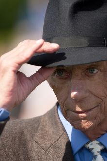 Sir Henry Cecil at the 2012 Ebor Festival