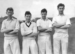 Smith, Clayton, Kelly, Goodwin - Lancashire C.C.C.