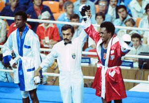 Sugar Ray Leonard wins Olympic gold