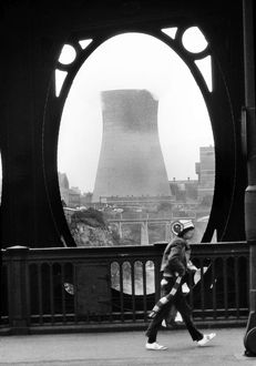 A Sunderland fan walks to Roker Park for his team's FA Cup homecoming.