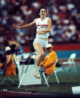 Susan Hearnshaw - 1984 Los Angeles Olympics