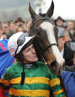 Tony McCoy and Synchronised - 2012 Cheltenham Gold Cup