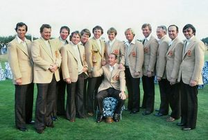 Victorious 1977 American Ryder Cup Team