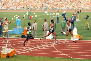 Vince Matthews win the 400m at the 1972 Munich Olympics