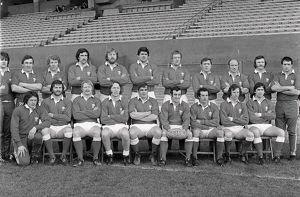 The Wales team that defeated France to win the Grand Slam in 1978