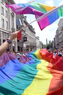 40th Anniversary of Pride - Gay Pride Parade in London, 3rd July 2010