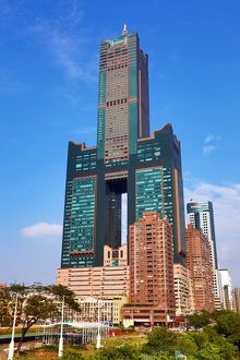 85 Sky Tower Hotel and Singuang Ferry Wharf, Kaohsiung, Taiwan