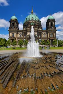 Berlin Cathedral aka the Berliner Dom in Berlin, Germany