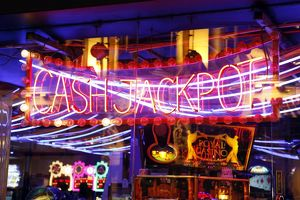 Cash Jackpot Neon Light sign