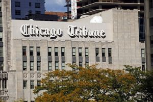 Chicago Tribune Building, Illinois, America