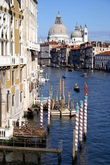Church of Santa Maria della Salute and Grand Canal, Venice